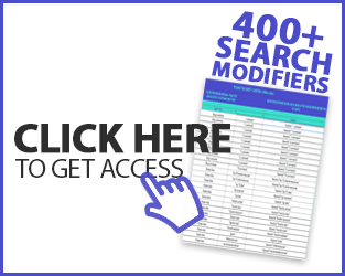 search modifier list access